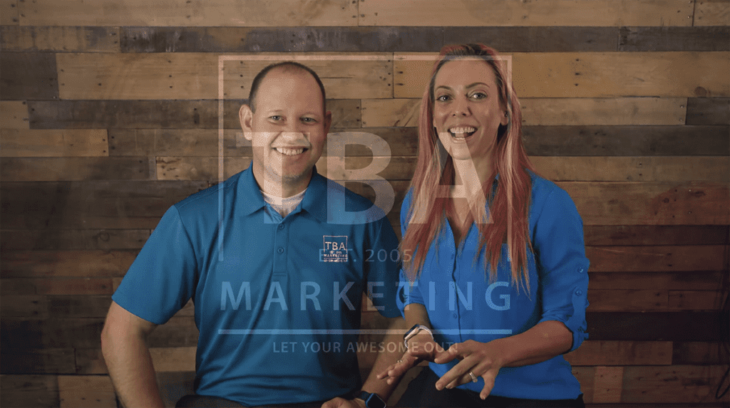 Tj and Brook Alcock - TBA Marketing Cofounders