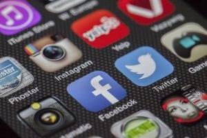 social logos phone | TBA Marketing